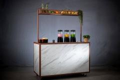 Marmeren mobiele smoothiebar van Bar Company