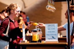 Smoothiecatering met verse smoothies op locatie en mobiele smoothiebar van Smoothiebar.nl